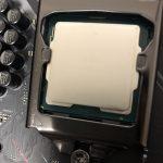 CPUの取り付け ~自作パソコンの作り方 その9~